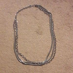 Accessories - Silver chain belt